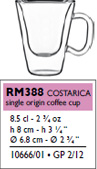 costa rica single origin cup