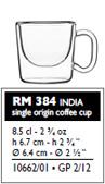 india single origin cup